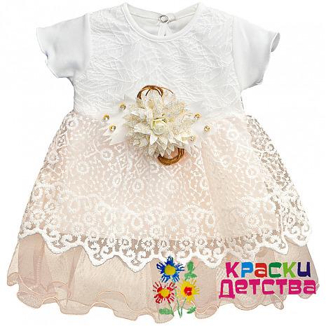 73126cf3ce23 Платье, артикул: TFX 0804, для девочки до 1 лет оптом из Турции