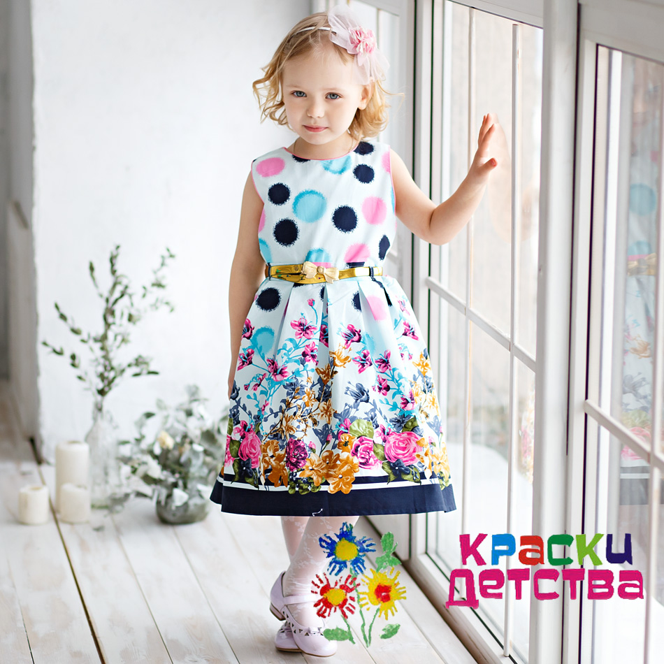 нарядное платье для маленьких девочек